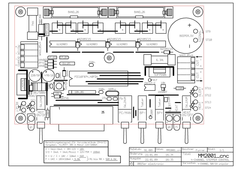 Balancer Wiring Cnc Diagram Controller 4060z Das Layout Einseitige Version